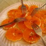 Orange Carpaccio
