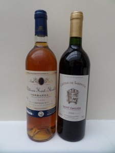 Two Excellent Wines